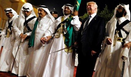Թրամփի պարը Սաուդյան Արաբիայում. տեսանյութ