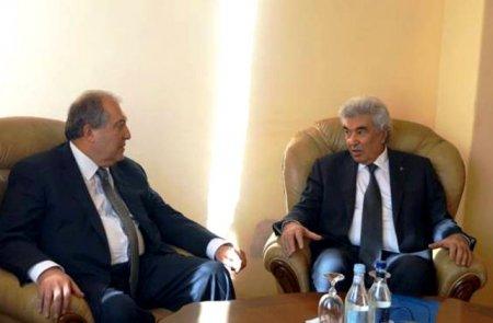 Արմեն Սարգսյանը հանդիպել է Գագիկ Հարությունյանի հետ