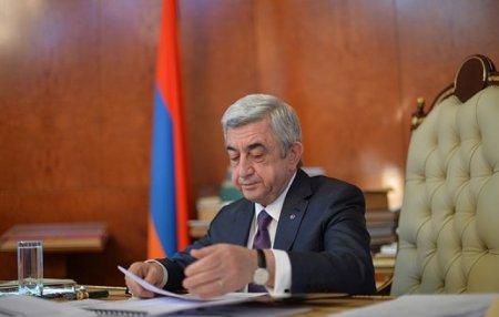 Սերժ Սարգսյանը ստորագրել է Ազգային ժողովի ընդունած ՀՀ սահմանադրական օրենքներ