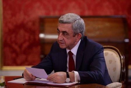 Մտավորականները իրենց զորակցությունն են հայտնել Սերժ Սարգսյանին