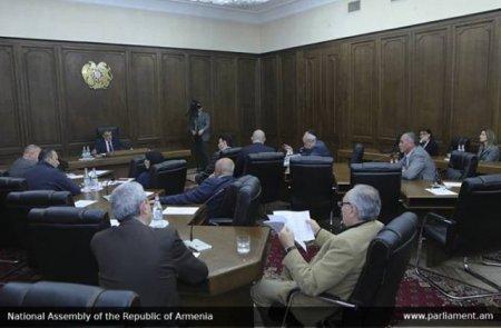 Ազգային ժողովում խորհրդի նիստ է գումարվել