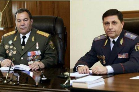 Լևոն Երանոսյանն ազատվել է Ոստիկանության զորքերի հրամանատարի, իսկ Վարդան Եղիազարյանը՝ փոխոստիկանապետի պաշտոնից