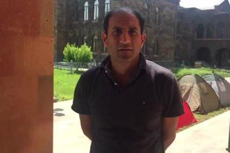 Գարեգին Բ-ի հրաժարականը պահանջող ակտիվիստների առաջնորդն ինչ յուրացման մեջ է մեղադրվում