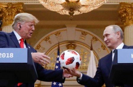 Ինչու՞ է Թրամփի անվտանգության ծառայությունը ստուգել Պուտինի նվիրած գնդակը
