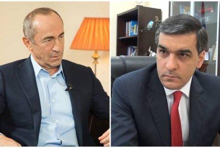 Արման Թաթոյանն այցելել է Հայաստանի երկրորդ նախագահ Ռոբերտ Քոչարյանին.Քոչարյանի կողմից չեն ներկայացվել դժգոհություններ