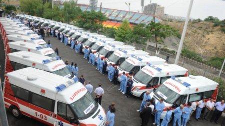 Չինաստանը Հայաստանին է նվիրաբերում շտապ օգնության 200 նոր ավտոմեքենա
