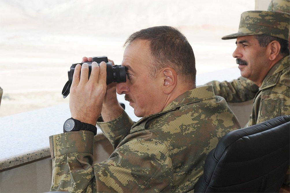 Ադրբեջանի բանակի զորավարժությանը մասնակցել են ամենաթարմ ձեռքբերումները՝ընդհուպ մինչև մարտական ավիացիան