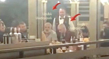 Սաշիկ Սարգսյանի որդին «քեֆ» է անում Արմեն Սարգսյանի հետ (տեսանյութ)