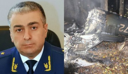 Ուղղաթիռի կործանման հետևանքով զոհվել է ՌԴ գլխավոր դատախազի տեղակալ Սահակ Կարապետյանը (տեսանյութ)