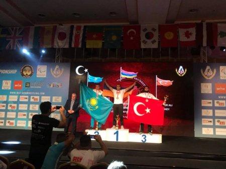 Հայ զինվոր մարզիկը Թուրքիայում նվաճել է աշխարհի չեմպիոնի կոչումը.հնչել է հայոց հիմնը. տեսանյութ