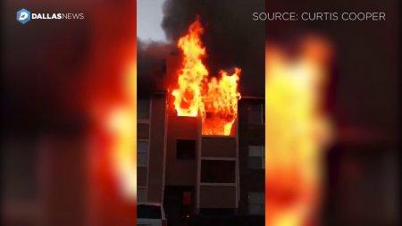 Տեսանյութ.ԱՄՆ-ում տղամարդը փրկել է 1տարեկան երեխային, որին մայրը նետել է այրվող տան պատուհանից