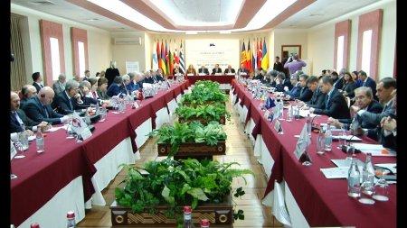 Տեսանյութ.ՍԾՏՀ ԽՎ նիստում Վրաստանի, Ադրբեջանի, Թուրքիայի պատվիրակությունները հրաժարվեցին Հայաստանի կողմից տրված մեդալներից