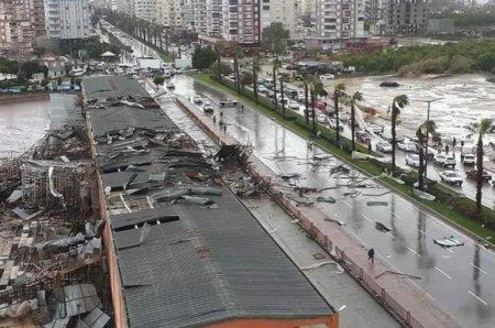 Անթալիայում պտտահողմ է գրանցվել, կա 2 զոհ և 15 տուժած, ևս մի քաղաքացի անհայտ կորած է համարվում (տեսանյութ)