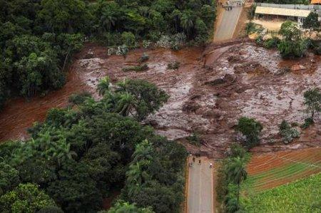 Տեսանյութ.115 մարդ է զոհվել,  248-ն անհետ կորած են. Բրազիլիայում ամբարտակի փլուզման տեսագրությունը