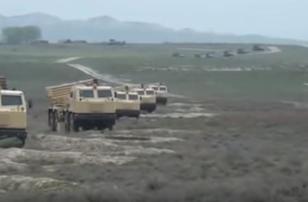 Ադրբեջանի զորավարժության կրակային փուլը. վարժանքներ են ընթանում նաև Նախիջևանի առանձին համազորային բանակում