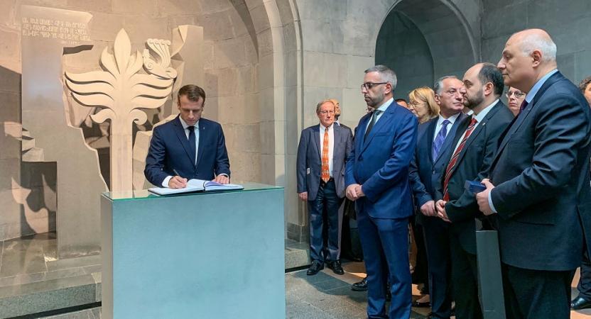 Մակրոնը ստորագրել է ապրիլի 24-ը Ցեղասպանության հիշատակման օր սահմանող հրամանը