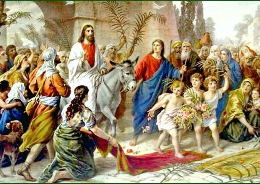 Ծաղկազարդ. Տեր Հիսուս Քրիստոսի հաղթական մուտքը Երուսաղեմ