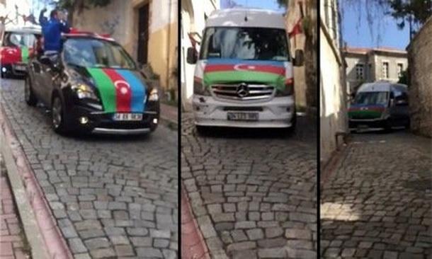 Ստամբուլում ազգայնամոլների՝ Ադրբեջանի դրոշներով ավտոերթը հայերով բնակեցված թաղերում անհանգստացնում է
